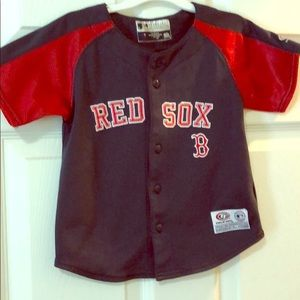 3t Red Sox Jersey